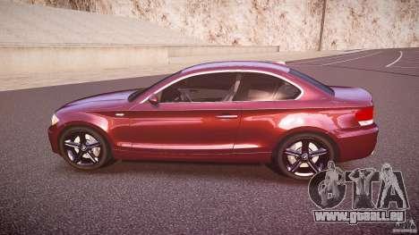 BMW 135i Coupe v1.0 2009 pour GTA 4 est une gauche
