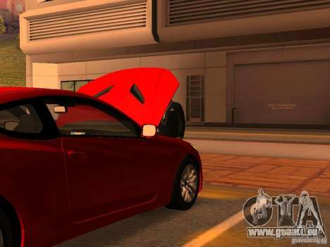 Hyundai Genesis Coupé 3.8 Track v1. 0 für GTA San Andreas Innen