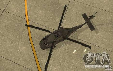 UH-80 pour GTA San Andreas vue intérieure