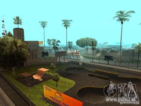 New SkatePark für GTA San Andreas zweiten Screenshot