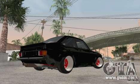 Ford Escort Mk2 pour GTA San Andreas vue arrière