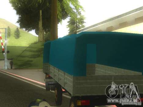 GKB-8536-trailer für GTA San Andreas linke Ansicht