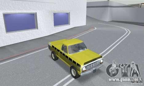 Dodge Prospector 1984 für GTA San Andreas Innenansicht