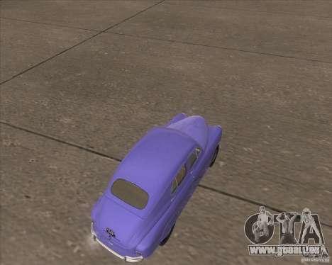 GAZ M72 pour GTA San Andreas vue de droite