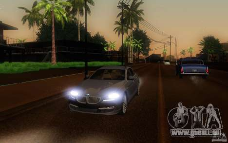 BMW 6 Series Gran Coupe 2013 pour GTA San Andreas vue de côté