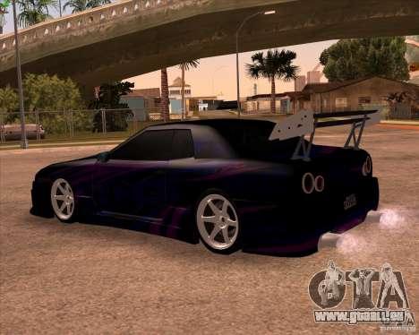 Elegy 0.2 pour GTA San Andreas vue de côté