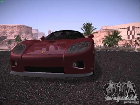 Koenigsegg CCX 2006 für GTA San Andreas Unteransicht