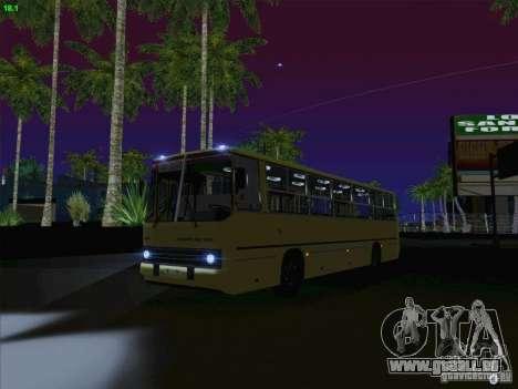 IKARUS 260 Lettonie pour GTA San Andreas vue intérieure