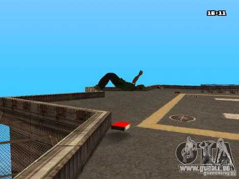 Parkour Mod für GTA San Andreas elften Screenshot