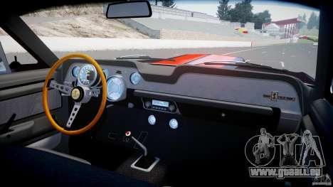 Ford Shelby GT500 1967 für GTA 4 Unteransicht