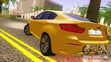 BMW X6M E71 v2 für GTA San Andreas rechten Ansicht