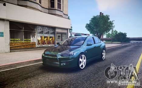 Mitsubishi Lancer Evo X Drift pour GTA 4