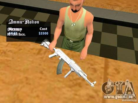 TeK Weapon Pack pour GTA San Andreas