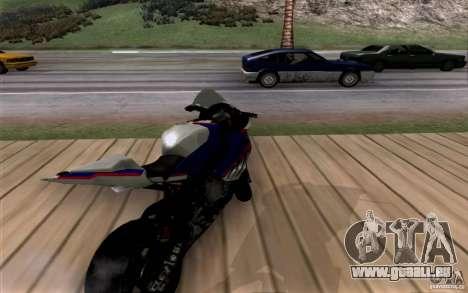 BMW S1000 RR für GTA San Andreas Rückansicht