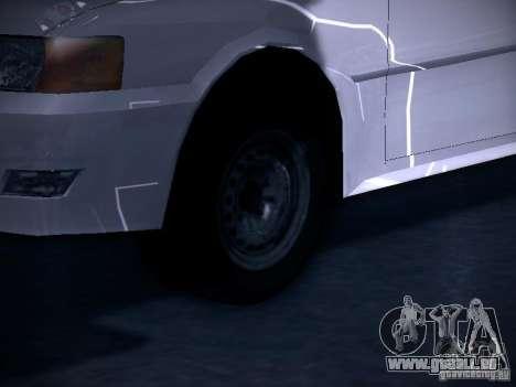 Toyota Chaser 100 für GTA San Andreas Rückansicht