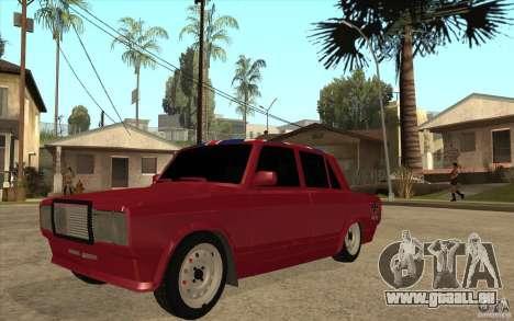 VAZ 2107 Hobo v. 2 für GTA San Andreas