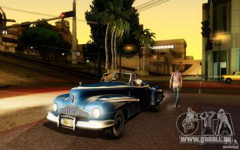 Buick Y-Job 1938 für GTA San Andreas obere Ansicht