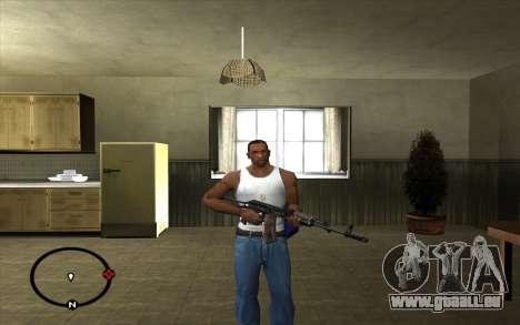AKS-74 pour GTA San Andreas deuxième écran
