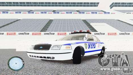 Ford Crown Victoria 2003 NYPD pour GTA 4