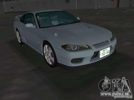 Nissan Silvia spec R Light Tuned pour une vue GTA Vice City de la droite