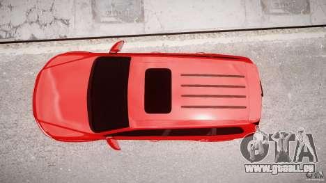 Volkswagen Touareg R50 2008 Tune (Beta) für GTA 4 obere Ansicht