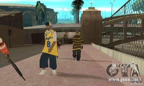 Remplacer toutes les apparences de gangs de Los  pour GTA San Andreas troisième écran