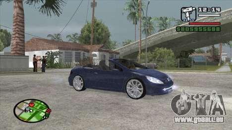 Peugeot 307 BMS Edition für GTA San Andreas linke Ansicht