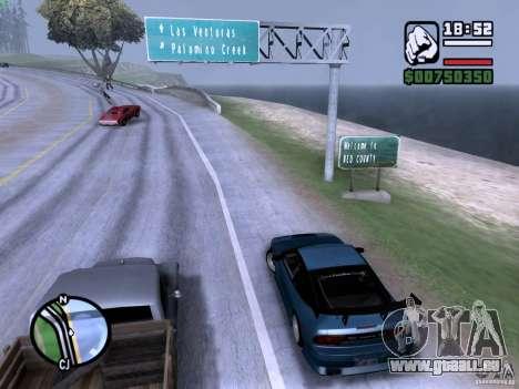 Nissan 180SX für GTA San Andreas linke Ansicht