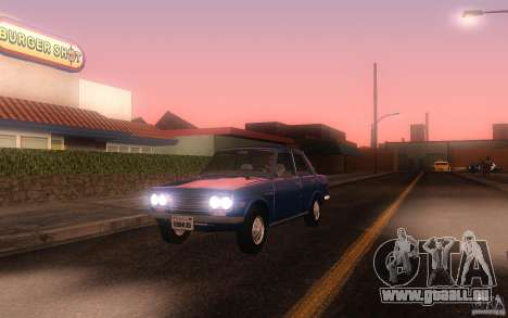 Datsun 510 4doors pour GTA San Andreas laissé vue