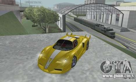 Ferrari FXX pour GTA San Andreas vue intérieure