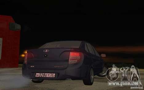 Lada Granta Stock pour GTA San Andreas vue de droite