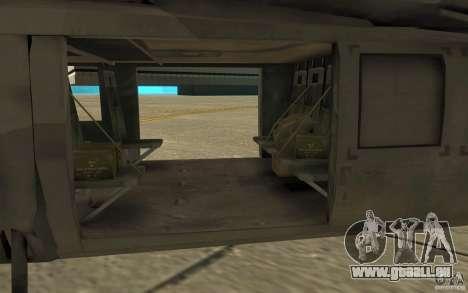 UH-80 pour GTA San Andreas vue arrière