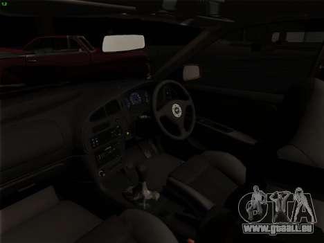 Mitsubishi Lancer Evolution VI für GTA San Andreas Unteransicht