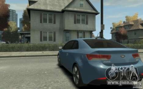 Kia Forte Koup SX für GTA 4 hinten links Ansicht