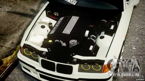 BMW e36 M3 für GTA 4 rechte Ansicht