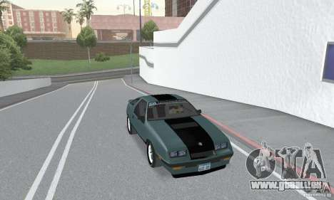 Dodge Daytona Turbo CZ 1986 für GTA San Andreas