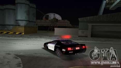 Saleen S281 Barricade 2007 für GTA Vice City Innenansicht