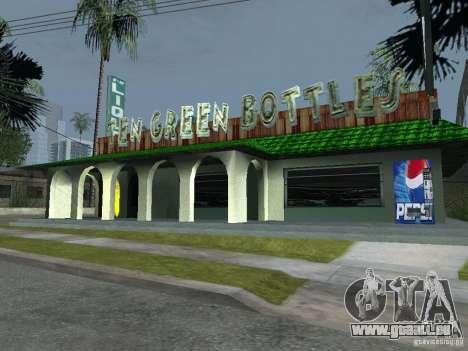 Distributeurs automatiques de Pepsi et plante pour GTA San Andreas troisième écran