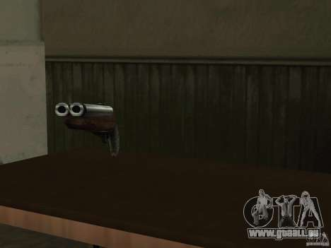 Pak version domestique armes 2 pour GTA San Andreas septième écran