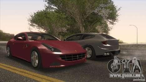 Ferrari FF 2011 V1.0 pour GTA San Andreas roue