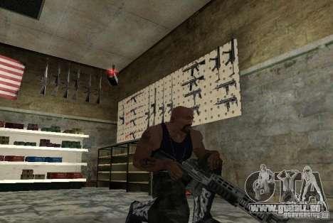 M14 EBR de la Killing Floor pour GTA San Andreas deuxième écran
