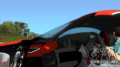 Alfa Romeo 8C Competizione für GTA Vice City rechten Ansicht