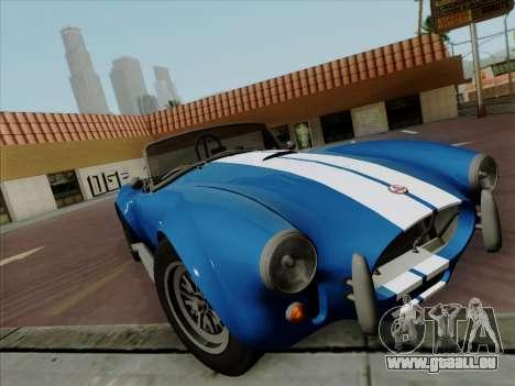 Shelby Cobra 427 pour GTA San Andreas