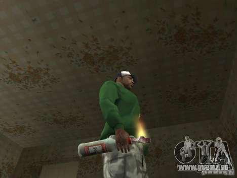 Pak intérieur armes V2 pour GTA San Andreas sixième écran