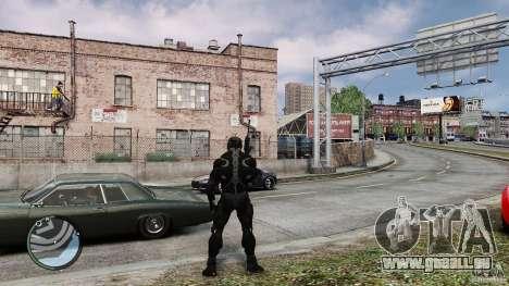 Crysis 2 NanoSuit v4.0 pour GTA 4 secondes d'écran