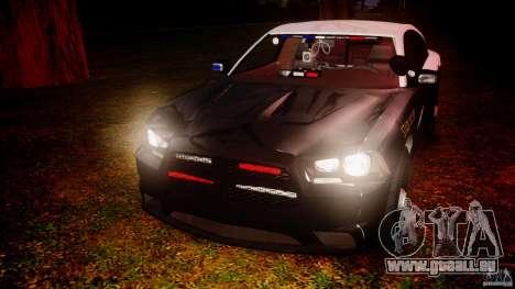 Dodge Charger 2012 Florida Highway Patrol [ELS] pour GTA 4 est un côté