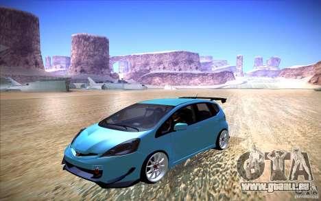 Honda Fit pour GTA San Andreas vue de droite