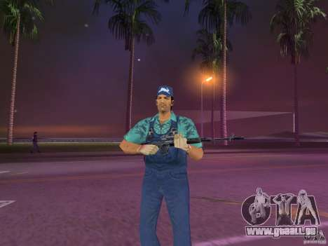 Armes de Pak intérieur pour GTA Vice City