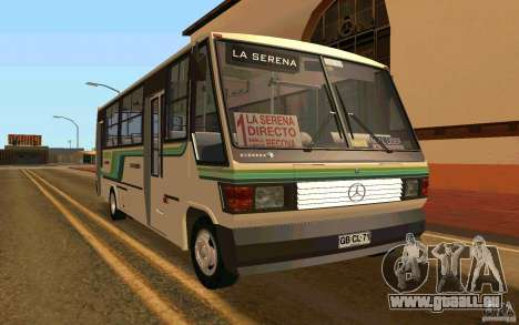 Mercedes-Benz LO-708E für GTA San Andreas
