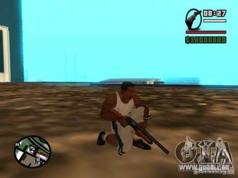 Gangster Weapon Pack für GTA San Andreas fünften Screenshot
